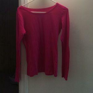 Hot pink shirt